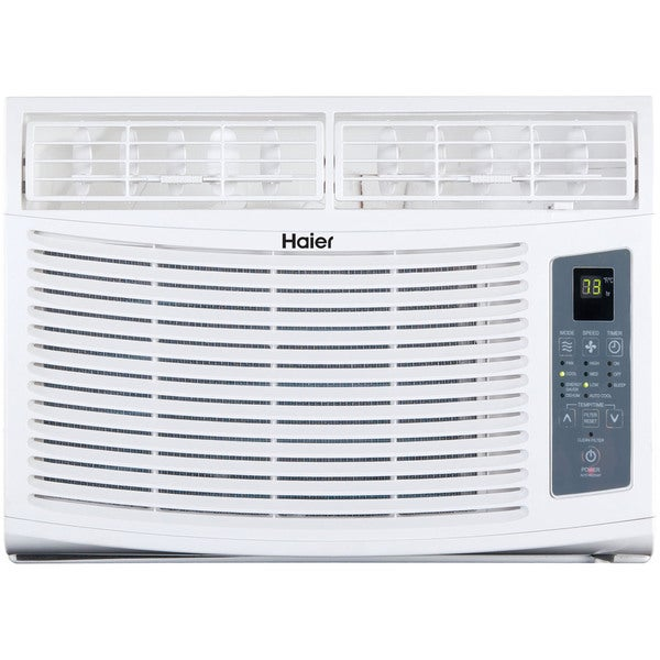 Haier HWE10XCR 10,000 BTU 115V Window-mounted Air Conditioner and Magnetic Remote with Braille 18044512