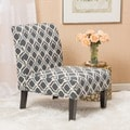Christopher Knight Home Saloon Fabric Print Accent Chair