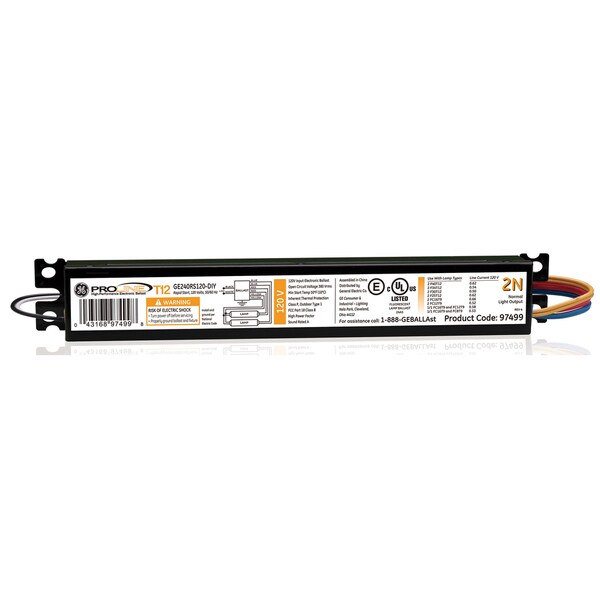 GE Lighting 93893 120 Volt Electronic Ballast