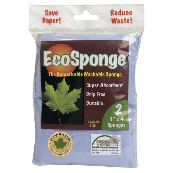 Pacific Dry Goods 10037 EcoSponge Washable Sponge 2-count