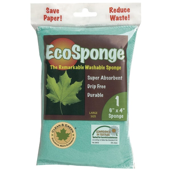 Pacific Dry Goods 10038 Large EcoSponge Washable Sponge