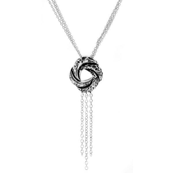 Sterling Silver Petite Love Knot Necklace