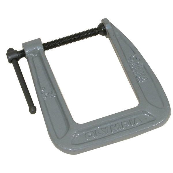 "Olympia Tools 38-123 2"" X 3-1/2"" C-Clamp"