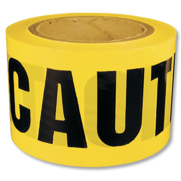 Intertape Polymer Group 600CC-300 Caution Tape Barricade Ribbon