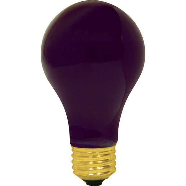 GE Lighting 25905 60 Watt A19 Blacklite Light Bulb