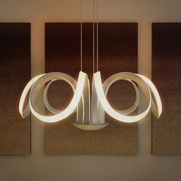 Vonn Lighting Capella 30-inches LED Adjustable Hanging Light Modern ...