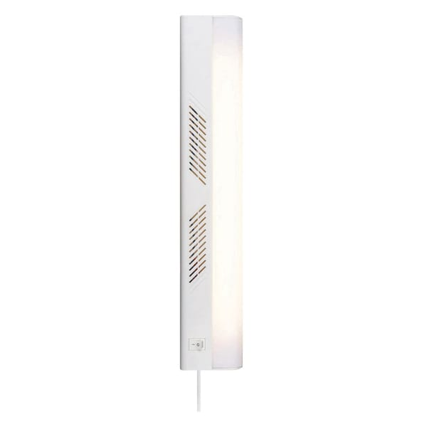 "Amertac FA356HBWCC 18"" 15W White Fluorescent Plug-In Cabinet Light"