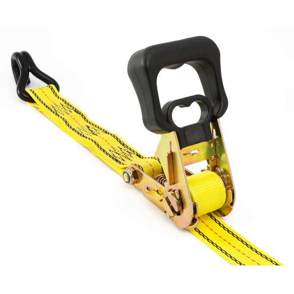 Pro Grip 350701 16' X 1-1/2-inch Commercial Grade Ratchet Tie Down With Hooks