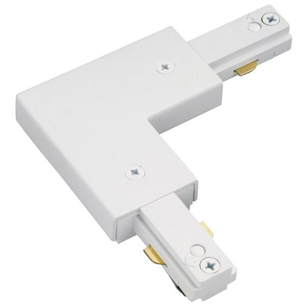 Lazer Lighting LZR000203P White L Track Lighting Connector