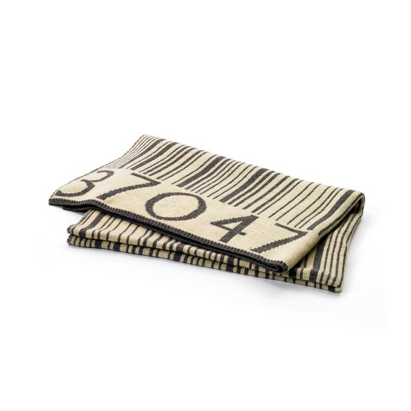 Hip Vintage Barcode Throw