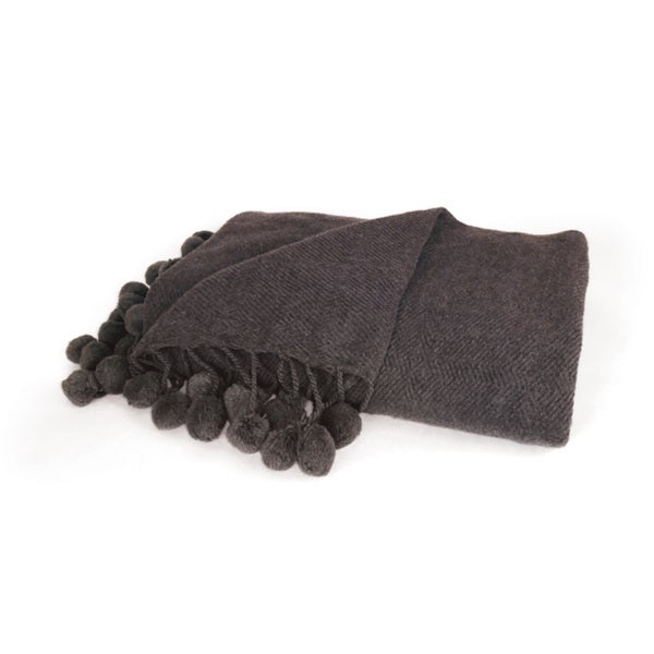 Hip Vintage Pom Pom Throw