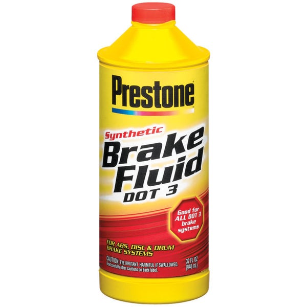 Prestone AS401 32 Oz Synthetic Brake Fluid