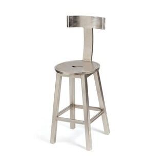 Hip Vintage 26' Seat Height Steel Finish Barstool