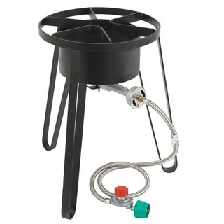 Heavy Duty Portable Propane Camping Stove with Stand