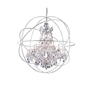 Bombay Durham Collection Polished Nickel Gyro Pendant Lamp