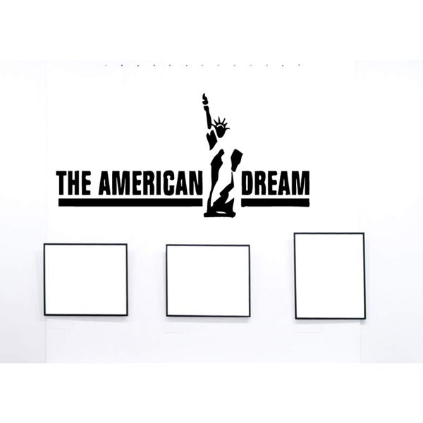 The Statue of Liberty The American Dream Wall Art Sticker Decal