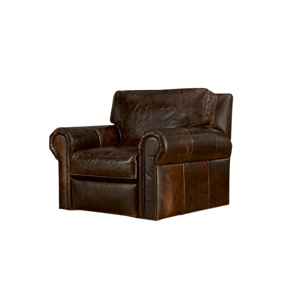 Bushwick Black or Brown Leather Chair