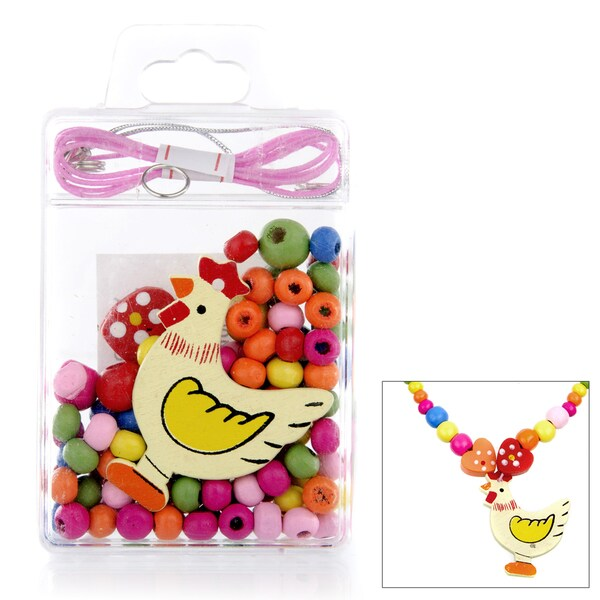 Crummy Bunny DIY Chicken Necklace Craft Kit