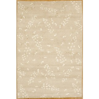 Hand-knotted Area Rug (6' 1 x 9' 1)