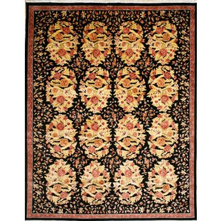 Hand-knotted Old Foral Besserabian Design Area Rug (11' 10 x 14' 10)