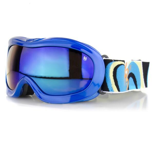 Crummy Bunny Blue Kids' Ski Goggles