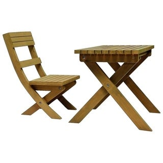 The Queen's Treasures Gombe Rainforest Table and Chair Set for 18-inch Doll Girl