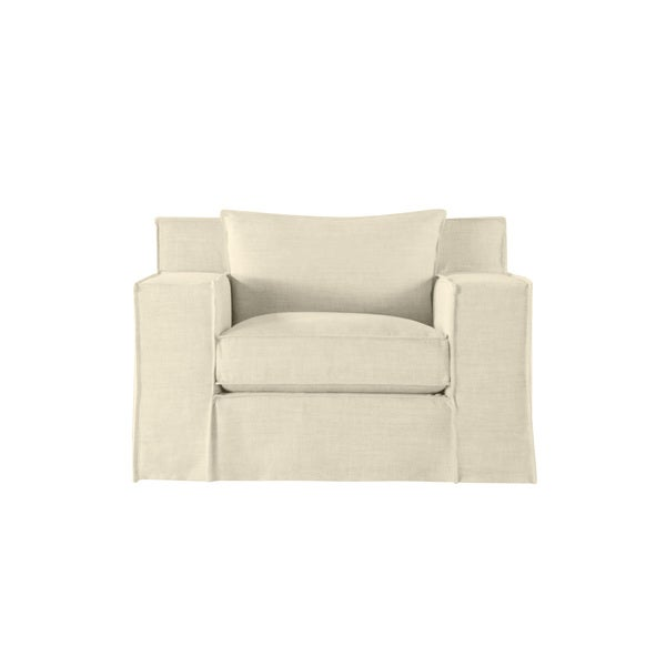 Byrne Modern Linen Chair