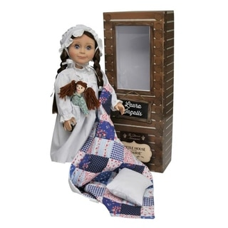 The Queen's Treasures Officially Licensed Little House on the Prairie 18-inch Laura Ingalls Doll