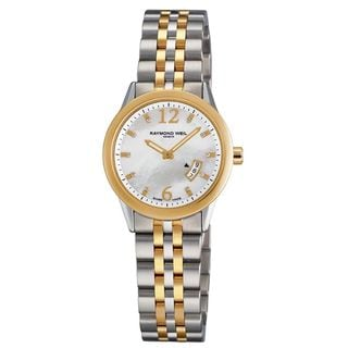 Raymond Weil Women's 5670-STP-05985 'Freelancer' Diamond Two-Tone Stainless Steel Watch