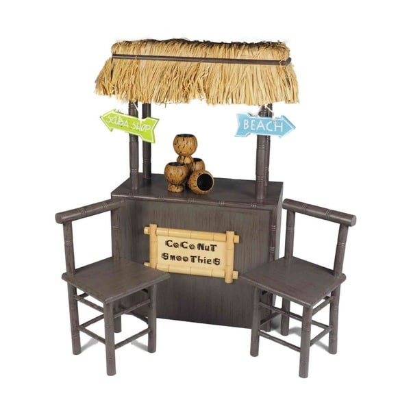 The Queen's Treasures American Coconut Smoothie Shaved Ice Stand Fits 18-inch Girl Doll Furniture and Accessories