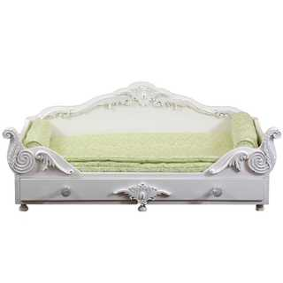 The Queen's Treasures American Victorian Trundle Dreamy Daybed Fits 18-inch Girl Doll Furniture and Accessories