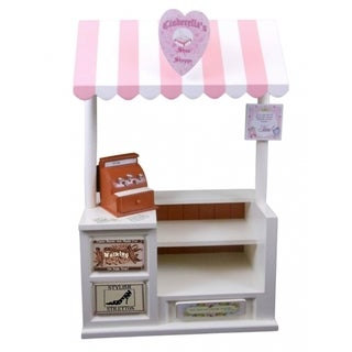The Queen's Treasures Interchangeable Cinderella's Shoe Shoppe with Counter Register and Shoe Shop Sign Fits 18-inch Girl Doll