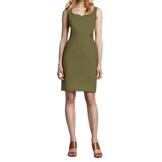 Tory Burch Khaki Green Taylor Dress (Size 14)