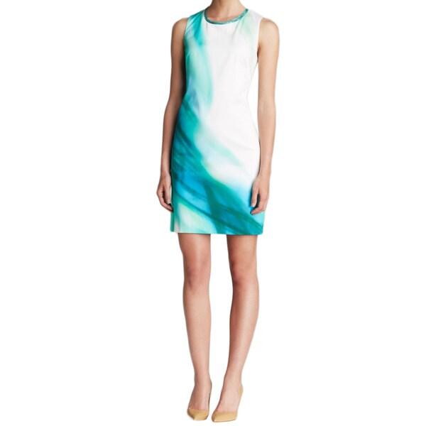 Elie Tahari Venezia Green Dress