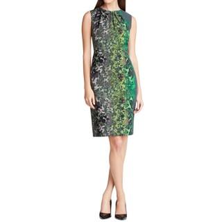 T Tahari Lucillie Green Dress (Size 6)
