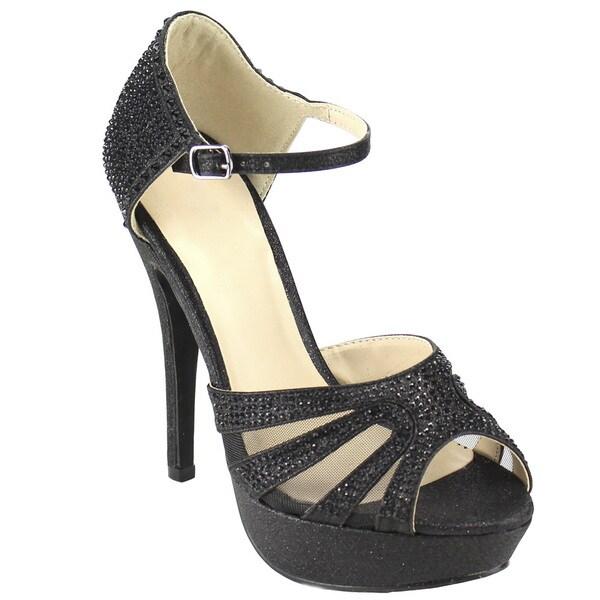 Beston Glitter Stiletto Heels