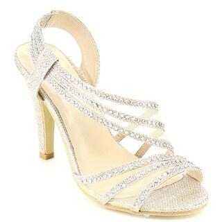 Beston Glitter Slingback Sandals