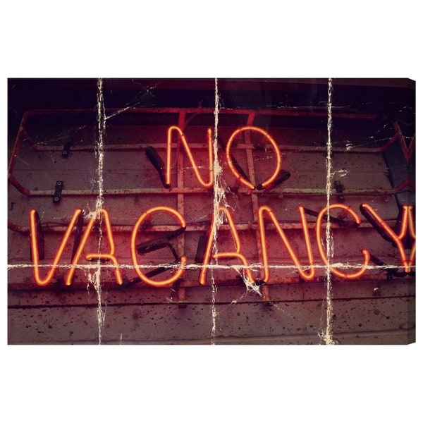 Canyon Gallery 'No Vacancy' Canvas Art