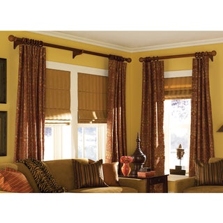 Roman Shades Ashton Stripe Linen Plain Fold 19 to 19.5 inches Wide