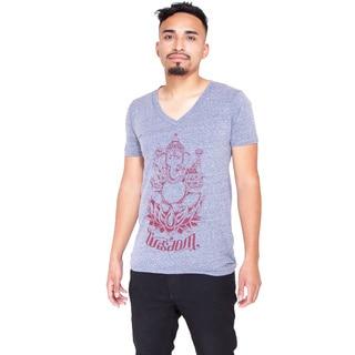 Yogi Basics Unisex V-Neck Triblend T-Shirt