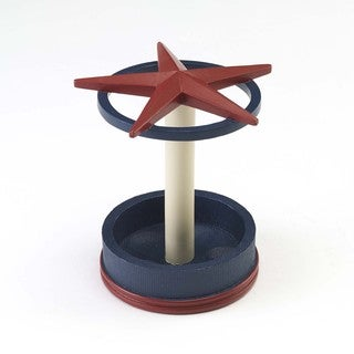 Texas Star Toothbrush Holder