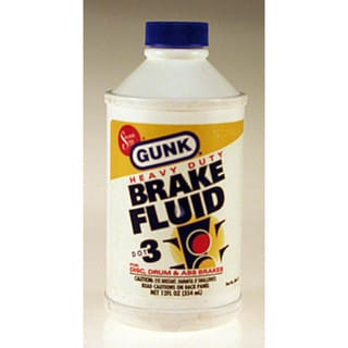 Gunk M4412 12 Oz Heavy Duty DOT 3 Brake Fluid