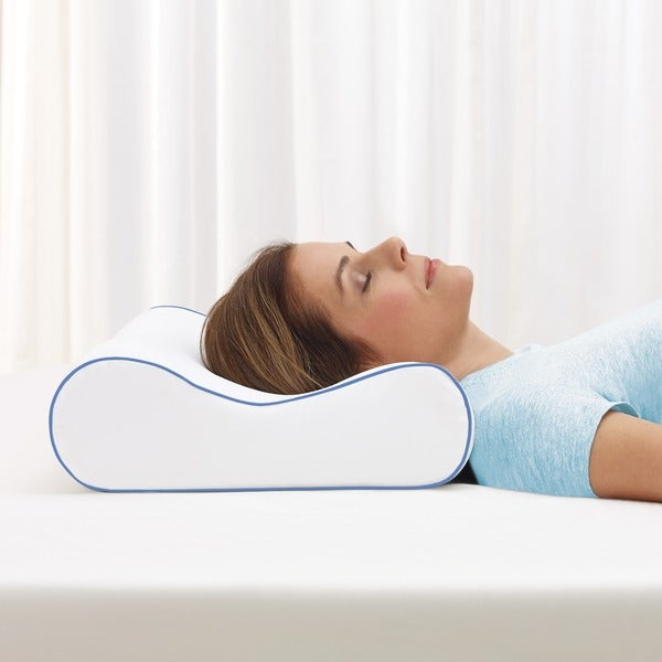Serta CoolVent Contour Gel Memory Foam Pillow