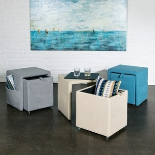 Studio Designs Home Charter Storage Ottoman