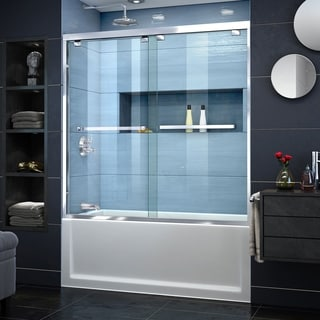 DreamLine Encore 56 - 60 in. W x 58 in. H Bypass Sliding Tub Door