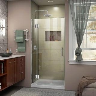 DreamLine Unidoor-X 33 in. W x 72 in. H Hinged Shower Door