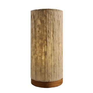 Paper Cylinder Lines Table Lamp (Philippines)