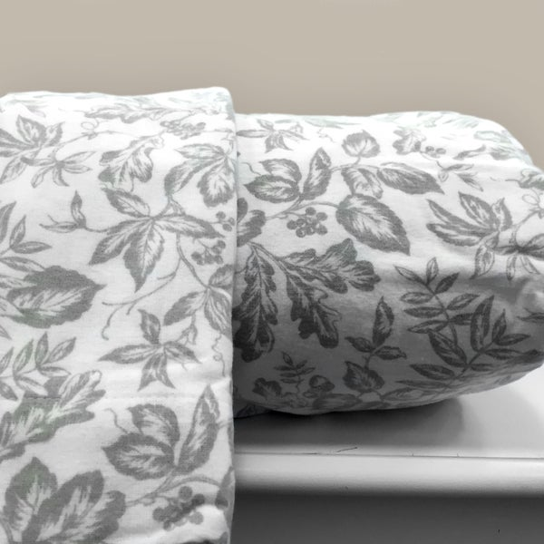 Sage Leaf 100-percent Cotton Flannel Sheet Sets