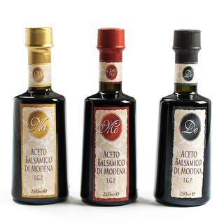 igourmet La Tradizione IGP Balsamic Blend Collection