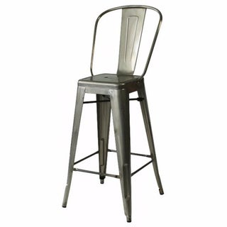 tabouret silver with back 30 inch bar stools set of 2 14381364 shopping. Black Bedroom Furniture Sets. Home Design Ideas